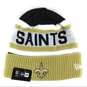 NWT New Era NFL New Orleans Saints Beanie Toboggan